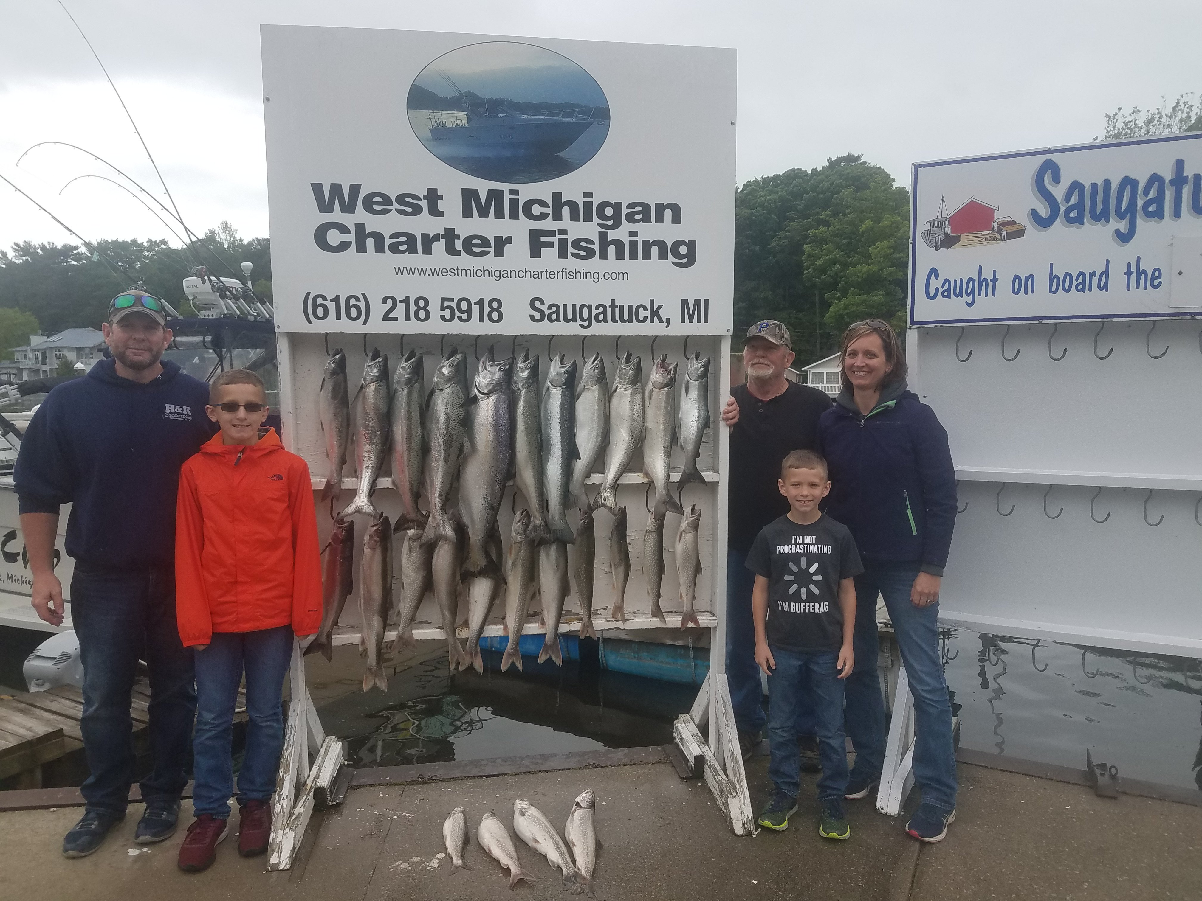 Fishing report – West Michigan Charter Fishing